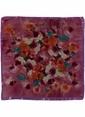 Agenda Çiçek Desenli Fular Pembe